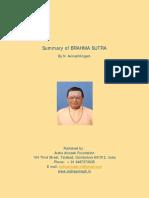 Brahma Sutra