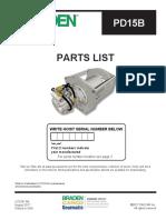 BARDEN Parts List