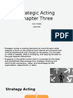 Chapter 3 - Strategic Acting