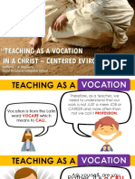 Basic Catechism for New Teachers 2019