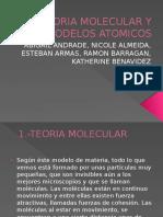 TEORIA MOLECULAR Y MODELOS ATOMICOS.pptx