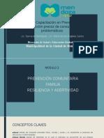Introduccion a conceptos sobre intervenciones comunitarias para el abordaje de uso y abuso de sustancias.