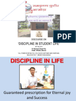 Discipline in Life (Guaranteed Prescription for Eternal Joy and Success)