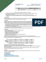 EM07-01 Contextual Issues Register