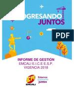 Informe de Gestion 2018 emcali.pdf