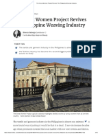 Great Women Project Revives the Philippine Weaving Industry