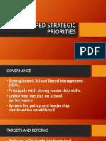 Deped Strategic Priorities