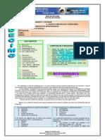 5. Aldehídos y Cetonas 6. Ácidos Carboxílicos y Derivados 7. Compuestos Nitrogenados g 3 III Período Estudiante_ E-mail_ Fecha