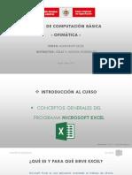 Introducción Al Curso - Excel