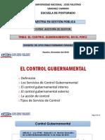 03. El Control Gubernamental en El Perú