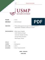 Jugo de Tamarindo Informe Bionegocios