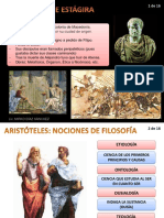 Filosofía de Aristóteles 2019