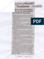 Business World, May 28, 2019, Albay representative asks SC to stop EDSA provincial bus ban.pdf