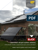 PLTS-Off Grid Individual Optimize
