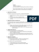 Curso de Derechos Fundamentales Teoría General (Gregorio Peces-Barba) Capítulo 1 resumen