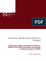 Telecoms, Media and Internet in Poland - CDZ