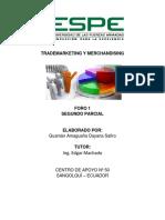 Foro 1 Dayana Guaman Trademarketing&Merchandising