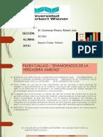 """PILSEN CALLAO - """"ENAMORADOS DE LA VERDADERA AMISTAD"""".pptx"""