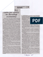 Philippine Star, May 28, 2019, Romualdez calls for unity to develop economy.pdf