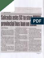 Tempo, May 28, 2019, Salceda asks SC to stop MMDA provincial bus ban on EDSA.pdf