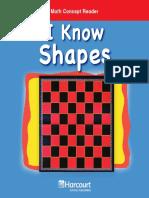 MCR PreK I Know Shapes
