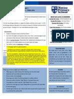 pp class newsletter term 4 2018
