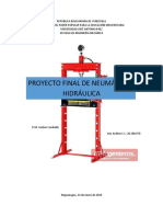 Proyecto Final de Neumática e Hidráulica