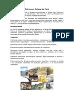 Patrimonio Cultural Del Perú(DPCC)