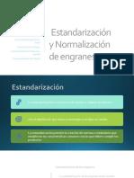 Estandarización y Normalización de Engranes.-1