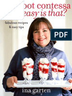 Recipes From Barefoot Contessa How Easy is That? by Ina Garten
