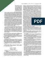 Ac. TC 270-2008 Caso Administrativo Decidido - Anulabilidade - Estabilidade