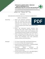 SK Penanggung Jawab Pelaksanaan Kegiatan Perbaikan pkm
