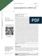 Mengontrol Perkembangan Miopia Pada Anak