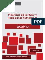 Boletin Regional Antiguo Marzo 2017 Ica