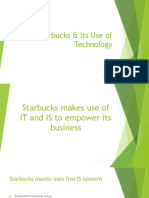 Starbucks and Information Technology