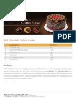 Milk Chocolate Coffee Cake