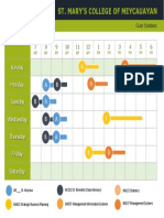 SMCM Teaching Schedule