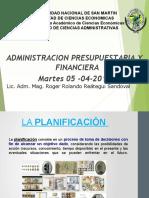 Tema 3.- Planificacion y Presupueso - Copia