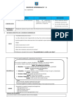 Sesion de Aprendizaje de Comunicacion de Primaria Saraccesa007 160216224133 Convertido