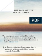 19 - INTEREST RATE AND ITS ROLE IN FINANCE.pptx