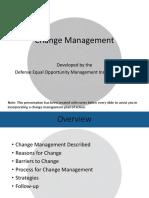 Change Management (2016)