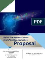 Dispute System Proposal