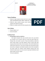 Praktikum Pengkodean Data Digital