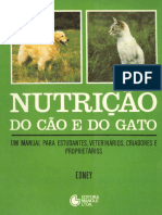 Nutricão Do Cão e Do Gato - A. T. B. Edney