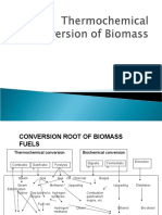 Thermochemical conversion