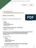 Examen Maquinista Metro 2019 - Resultados (Juanmr) Foro Oposiciones Renfe
