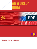 """Russian World"" in Georgia"