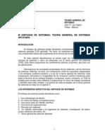 El Enfoque de Sistemas t.g.s. Aplicada