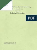 Harbin Furnace - Technical Instructions