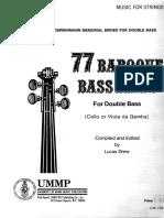 77 Baroque Bass Lines (L Drew)